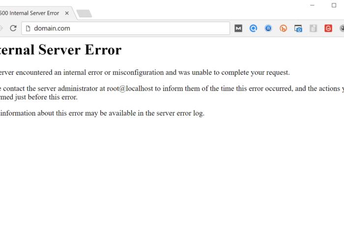 internal-error-serveur